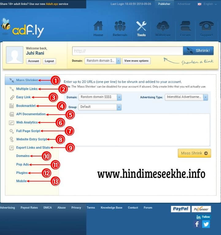 AdfLy Tools Use And Benifits
