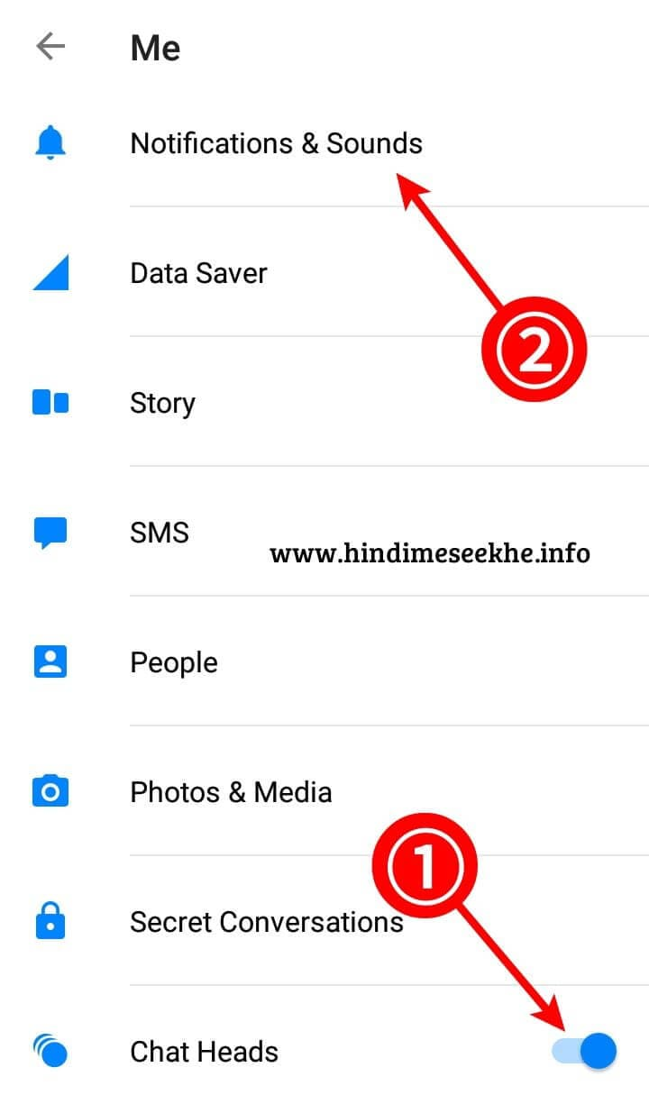 Facebook Messenger Message Hide Karne Ka Tarika